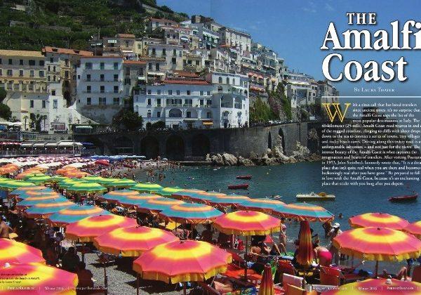 The Amalfi Coast in Perillo Traveler Magazine