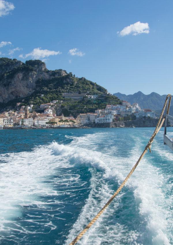Amalfi Coast Ferry Schedule 2016
