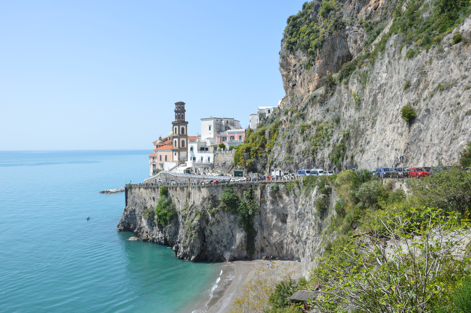 Driving on the Amalfi Coast