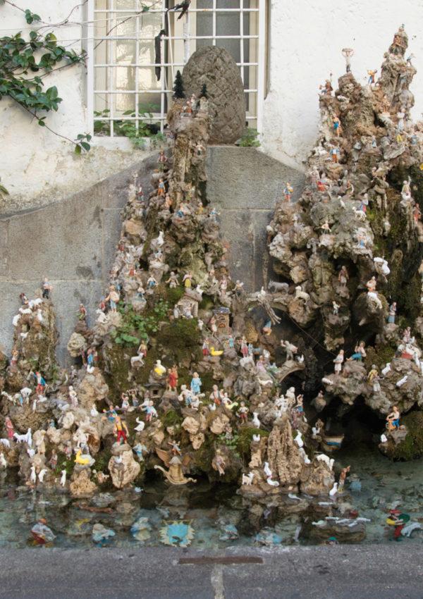 Fountain Nativity Scenes in Amalfi