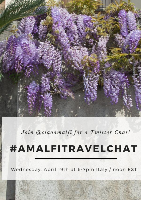 Join Me for an Amalfi Coast Travel Twitter Chat