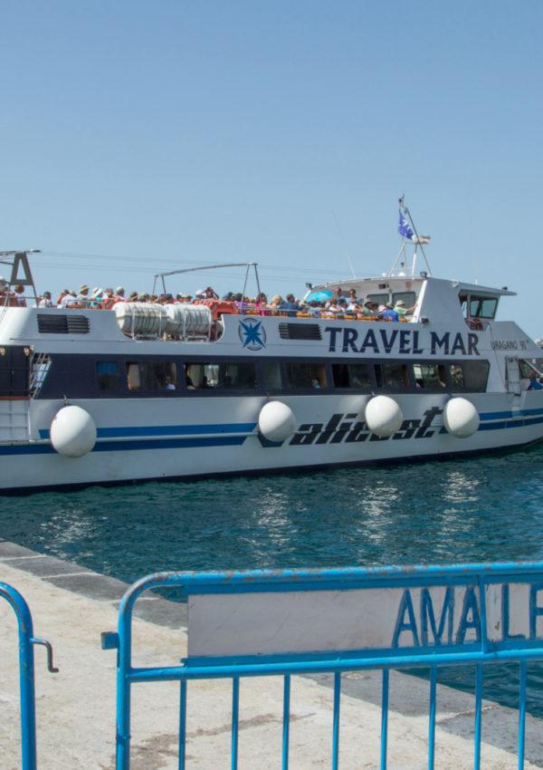 Amalfi Coast Ferry Service to Minori, Maiori & Cetara