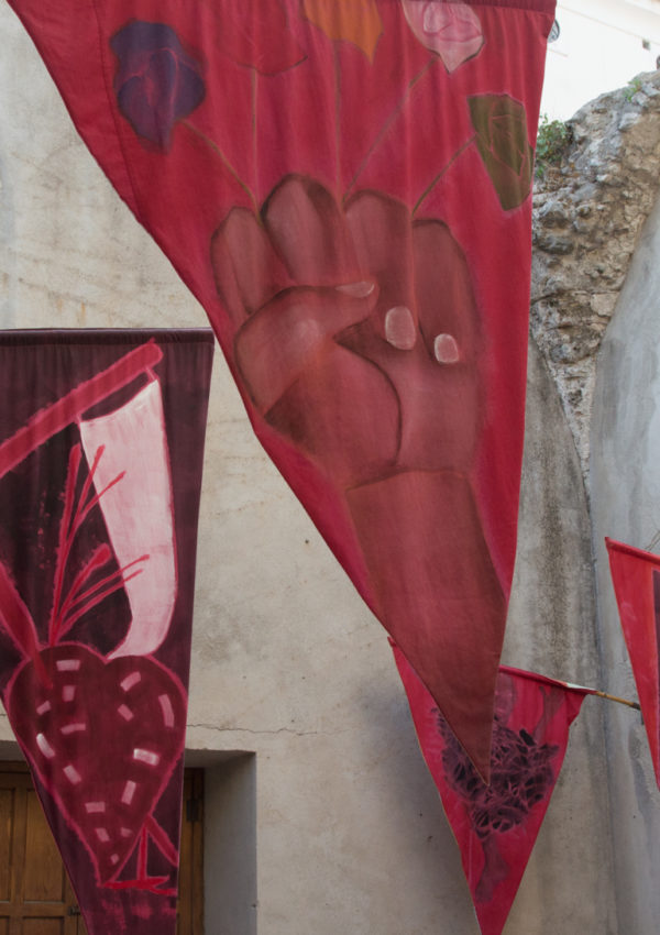 Francesco Clemente's Standing with Truth for Ravello 2017