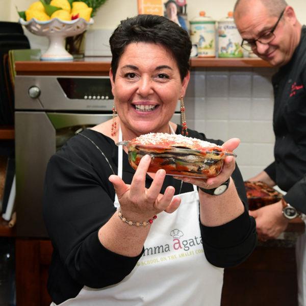 New Live Streaming Amalfi Coast Cooking Classes with Mamma Agata Live