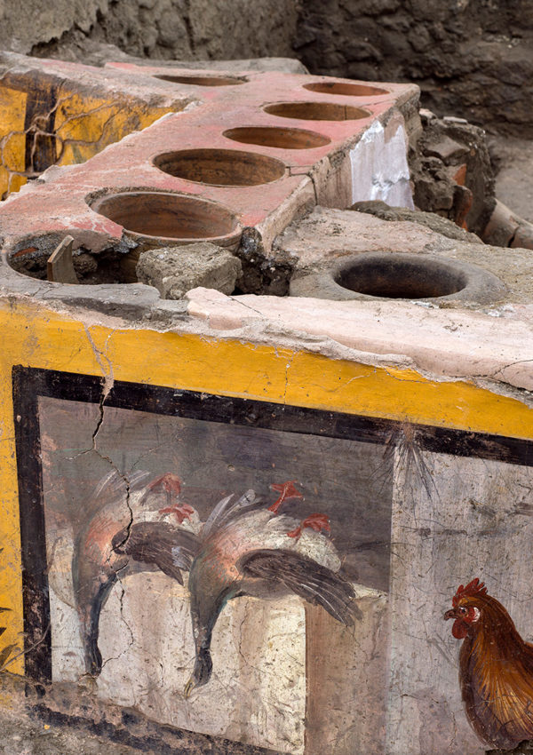 What's Cooking? New Thermopolium Uncovered in Pompeii
